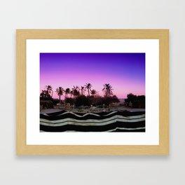 Bedouin Sunset Framed Art Print
