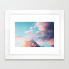 Clouds Paradise Framed Art Print