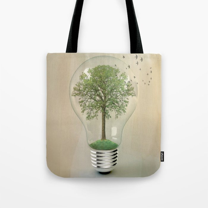 green ideas Tote Bag