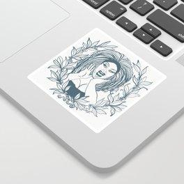 Divine Dawn Davenport Sticker