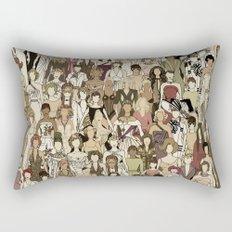 Little Women Rectangular Pillow