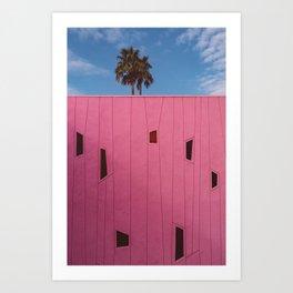 Palm Springs Vibes III Art Print