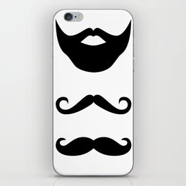 Moustache iPhone Skin