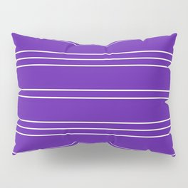 Simple Lines Pattern pu Pillow Sham