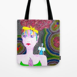 She Started To Know Herself Tote Bag