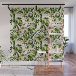 Jungle botanical succulent Wall Mural