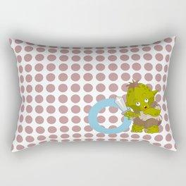 o for orc Rectangular Pillow