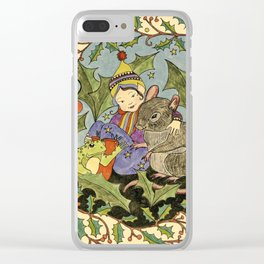 Sheltering The Little Folk Clear iPhone Case