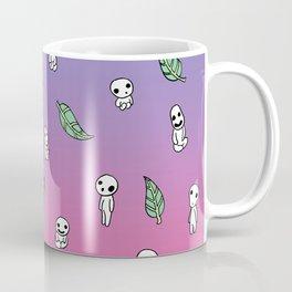 Moonrise Kodama Pattern Coffee Mug