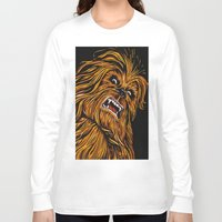 chewbacca Long Sleeve T-shirts featuring Chewbacca by Laura-A