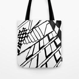 Broken Chess Tote Bag
