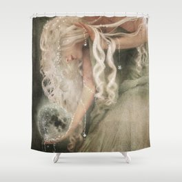 Sister Moon Shower Curtain