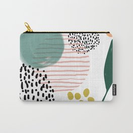 Abstract Modern Pattern 7 Carry-All Pouch