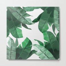 Tropical Palm Print Metal Print