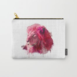 Rose Lion Carry-All Pouch