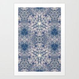 Pattern of clouds 33 Art Print