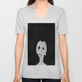 Bone Head Unisex V-Neck