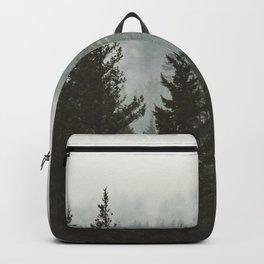 Wanderlust Forest II - Mountain Adventure in Foggy Woods Backpack