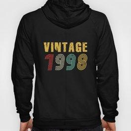 23rd Birthday Gift Idea Vintage 1998 Men Women Hoody