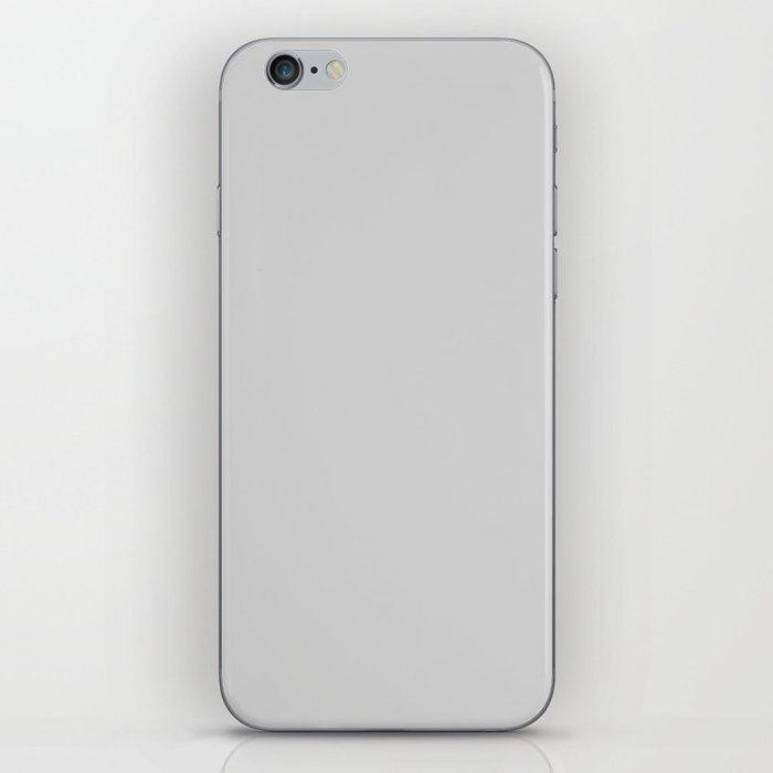 Light Gray - solid color iPhone Skin