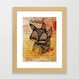 Renard (Fox) Framed Art Print