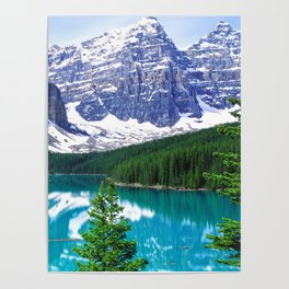 Canadian Wonder: Moraine Lake Poster
