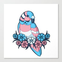 Pride Birds - Transgender Canvas Print