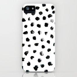 Dalmation Pattern iPhone Case