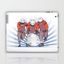 Cool Runnings - Bobsleigh 4 men team Laptop & iPad Skin
