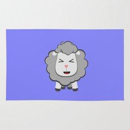 Happy Kawaii Sheep Rug