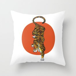 The Traditional Tiger Throw Pillow