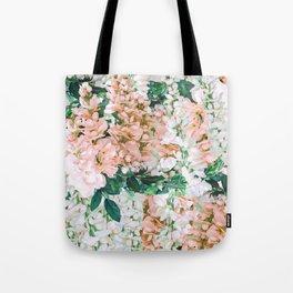 1992 Floral Tote Bag