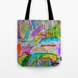 Lily's Watercolor Tote Bag