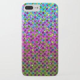 Polka Dot Sparkley Jewels G377 iPhone Case
