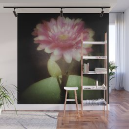 Vintage Dreamy Flower Wall Mural