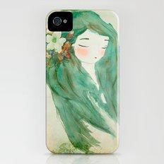 Flower girl iPhone (4, 4s) Slim Case