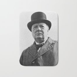 Sir Winston Churchill Bath Mat
