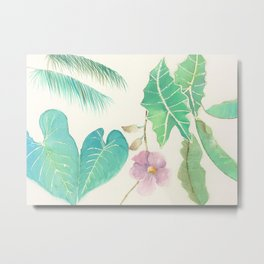 Tropical Combo Metal Print