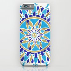 Royal Blue Mandala iPhone 6 Slim Case