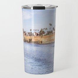Sunset Cliff Travel Mug