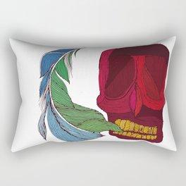 feathskull Rectangular Pillow