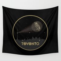 toronto Wall Tapestries featuring New Toronto by October's Very Own