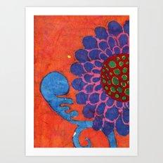 Lori's Flower Art Print