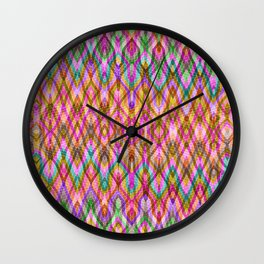 Missoni Style Wall Clock