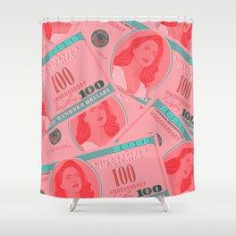 Lana for president Shower Curtain