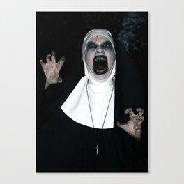Valak Screaming Canvas Print
