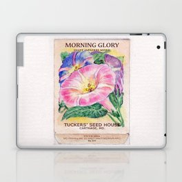Morning Glory Seed Pack Laptop & iPad Skin