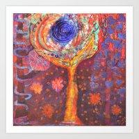 Joy Tree Art Print