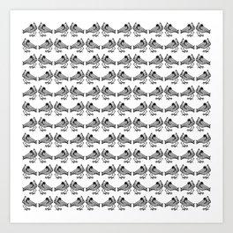 Birdie x 144 Art Print