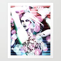 rave Art Prints featuring Rave by Vaia